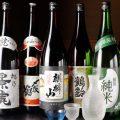 越後の美味い日本酒を多数取り揃えております♪